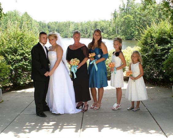 Erika's Wedding July 22, 2012